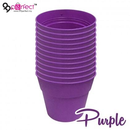 12pcs Medium Size Garden Plastic Flower Pot (M000-0570) 99PERFECT