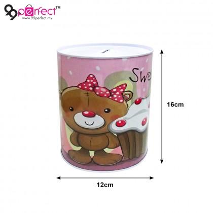 2Pcs Random Bear Design Coin Box (BC09-0087) 99PERFECT