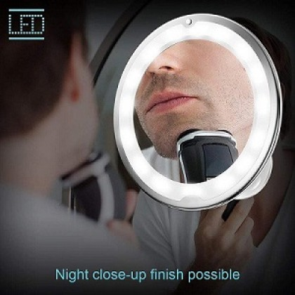10X Magnification Mirror 360 Rotating Makeup LED Light (BC19-0099) 99PERFECT