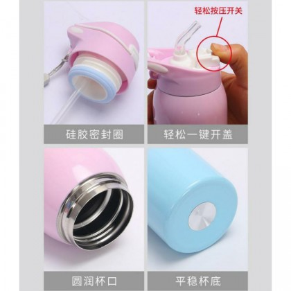 (RANDOM) 500ML Vacuum Flask 304 Stainless Steel Thermal Flask Thermos Flask Bottle Thumbler (BC19-0258) 99PERFECT