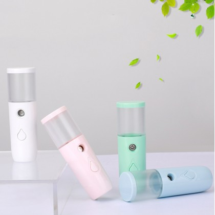 Nano Spray Facial Cooling Face Sprayer USB Mist Portable Humidifier Moisturizing Tool (BC11-0145) 99PERFECT