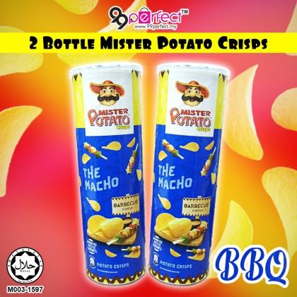 2 Bottle 150g Mister Potato Crisps Party Snack Chips [ 99PERFECT ]