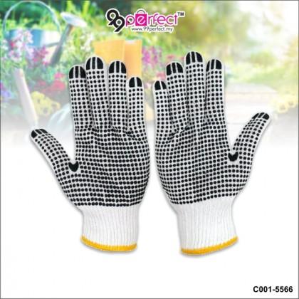 2 Pairs Cotton Hand Glove Gardening Gloves Anti Slip (C001-5566) 99PERFECT