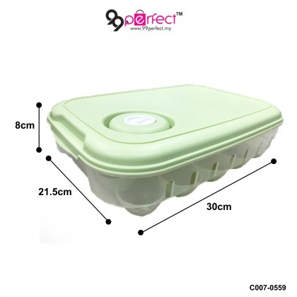 1 x 20PCS Egg Tray with Cover Egg Storage Egg Container (C007-0559) 99PERFECT