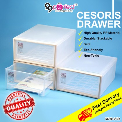 1pcs Multipurpose Stack-able Cesoris Drawer Storage Cabinet LAVA (M029-0182) 99PERFECT