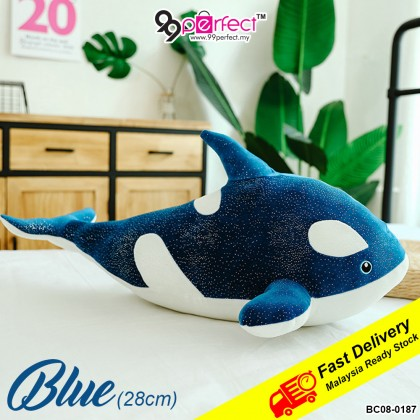 28cm Whale Stuff Toy Stuffed Animals Simulation Fish Doll Pillow Toys Gift Children (BC08-0187) 99PERFECT