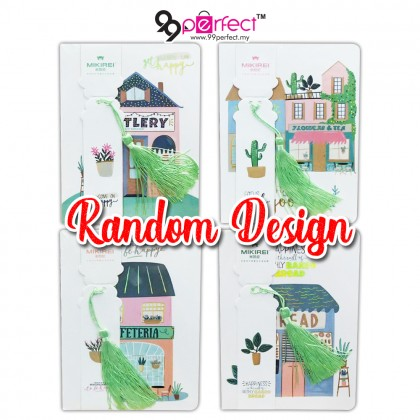 Random Design Hand Draw House Notebook for Student Kids School (BC09-0119) 99PERFECT