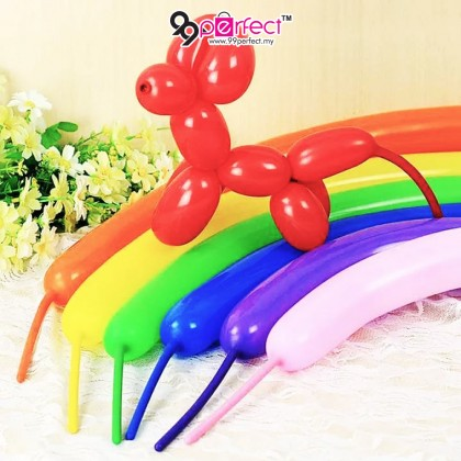 20pcs/pack Long Magic Balloons for Modeling with a Pump Birthday Decoration Balloon for Children (BC14-0009) 99PERFECT