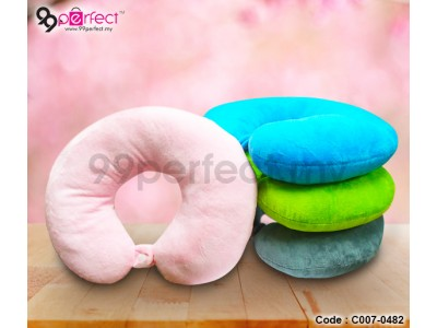 Comfortable Neck Pillow with Clip (C7-482) [ 99perfect ]