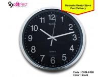 Large Nextime Vintage Round Modern Wall Clock Quartz