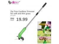 Zip Trim Cordless Trimmer Soft Thin Grass
