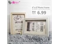 """Photo Frame 4R 4""""x6"""""""