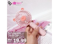 Portable USB Rechargeable Hand Held Fan