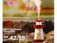 150ml Lighthouse Humidifier with LED (BC11-3)