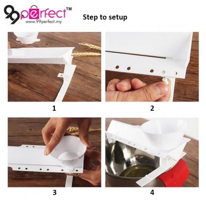Sliding Egg Yolk Separator Kitchen Baking Culinary Tool