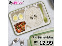 Deli Bear Lunch Box Food Container