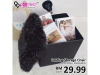 Multifunction Foldable Storage Box Chair