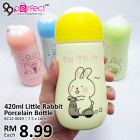 420ml Little Rabbit Ceramic Thermos Bottle