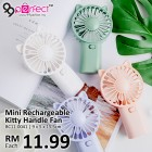 Rechargeable Mini Kitty Handheld Fan