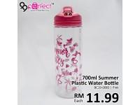 700ml Clear Plastic Drinking Water Bottle