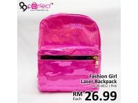 New Fashion Girls' Laser Backpack