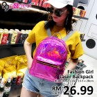New Fashion Girls' Laser Backpack