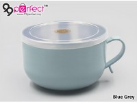 Double Layer 304 Stainless Steel Noodle Cup with Cap