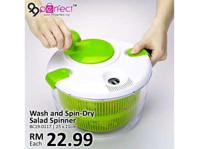 Wash and Spin-Dry Salad Spinner
