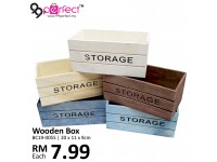 Multi Function Small Wooden Storage Box