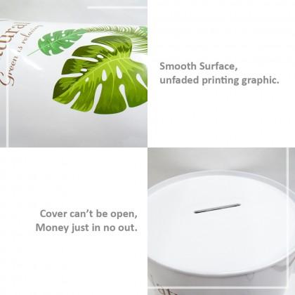 2 Random Design Natural Saving Coin Box