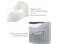 Adjustable U-Shape Memory Foam Travel Neck Pillow