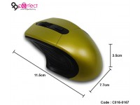 2.4GHz Curve Wireless Optical Mouse