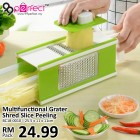 5 in1 Multifunctional Grater with Peeler