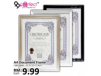 A4 Certificate Frame with Hook