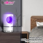 LED Light USB Charging Photocatalysis Suction Type Mosquito Killer