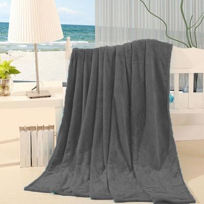 1.5M x 2M Singel Blanket Soft Warm Coral Fleece Winter Blanket Bedspread Plaid Blankets and Plaid Light Thin Fluffy Blankets