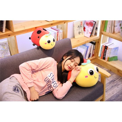 (BIG) Ladybug Stuffed Toy Plush Soft Toy Super Soft Pillow Kid Gift 38*25*20