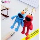 Sesame Street Keychain Bag Car Plush Doll Plush Toy Stuffed Soft Gifts Kids