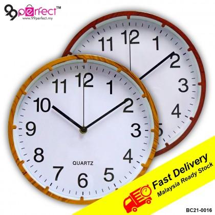 26cm Quartz Wall Clock Silent Moment (BC21-0016) 99PERFECT