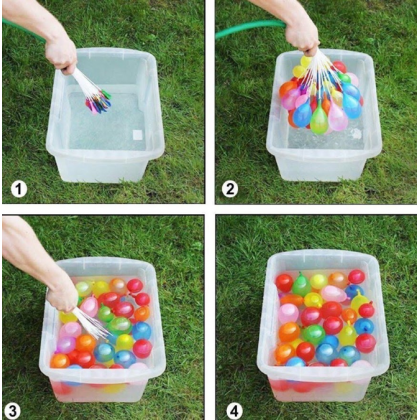 111Pcs/set Funny Colorful Mini Balloon Water Balloons For Children Beach Toys Outdoor Sports Swimming Pool Party