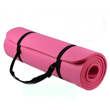 183cmx80cm Yoga Mat Extra Thick 10MM Non-Slip Anti-Skid Mat Home Gym Workout Exerciser Free Carry Strap (BC24-0006) 99PERFECT