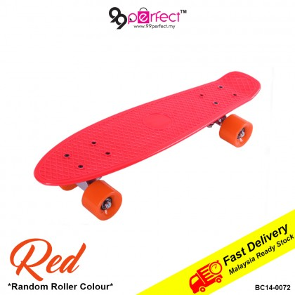 22 inch (56cm) Penny Board Skateboard for Kids and Adults Colourful (BC14-0072) [ 99PERFECT ]