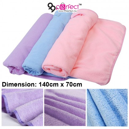 New Home Textile Wearable Towel Dress Lady Fast Drying Beach Spa Magical Nightwear (BF-416) [ 99PERFECT ]